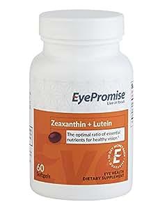 EyePromise Zeaxanthin + Lutein Eye Vitamin - Protect & Enhance Macular Health