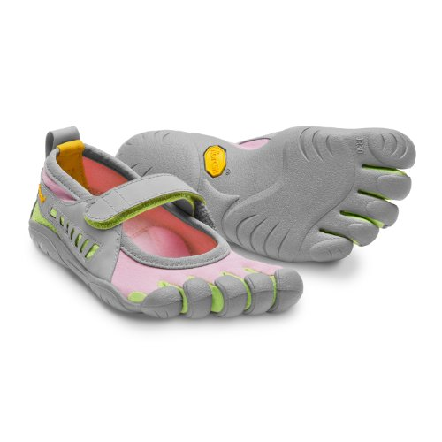 Vibram Fivefingers Sprint Girl's Pink/Grey/Green-31