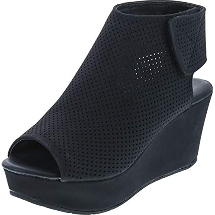 Pierre Dumas Women's Natural-2 Wedge Sandal