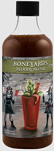 Boneyard's Bloody Mary Mix Original Blend | 16 Oz Bloody Mary Concentrate & Marinade