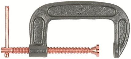 """Lincoln Electric KH907 Steel C-Clamp, 5"""" Jaw Width, Gray (Pack of 1) [並行輸入品]"""