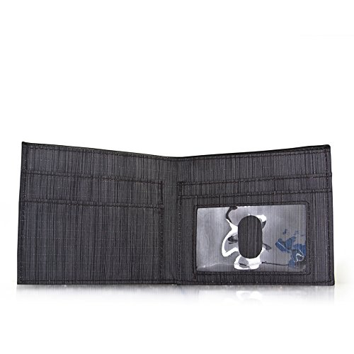 Black Allett Slim Leather ID Wallet