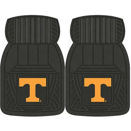NCAA 4-Piece Front #36572611 and Rear #19888871 Heavy-Duty Vinyl Car Mat Set, University of Tennessee by Sports Licensing Solutions LLC