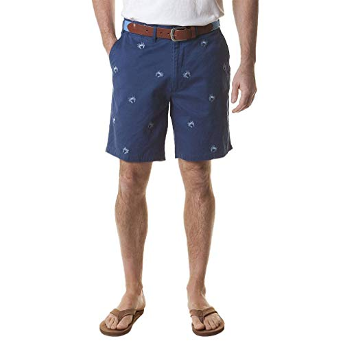 Castaway Clothing Cisco Short with Embroidered Blue Crab Final ()