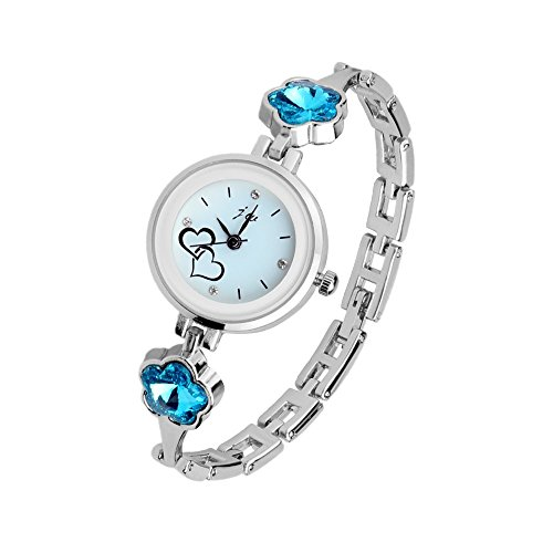 Crystal Bracelet Dress Watch - 5