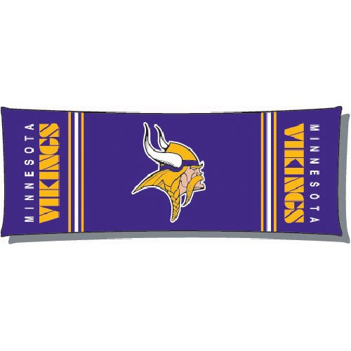 Minnesota Vikings NFL Full Body Pillow by Northwest (19 x 54)