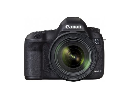 Canon EOS 5D Mark III DSLR Camera with 24-70mm f/4L IS Lens Black 5260B054
