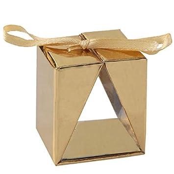 Faltschachtel Cadeau Gold 4 St Edle Verpackung Für
