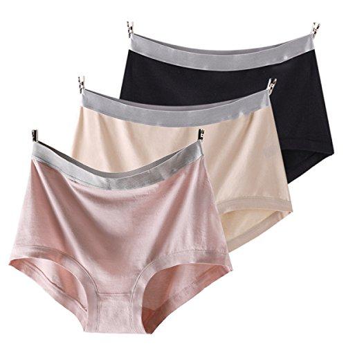 Ocio Transpirable Del Bikini Bragas Pack De 4 De Las Mujeres A1