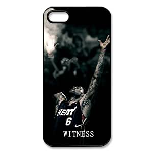 Coolest Miami Heat star LeBron James Apple iphone 6 4.7 S/5 Case Cover Witness Quotes NIKE JUST DO IT #iphone 6 4.7