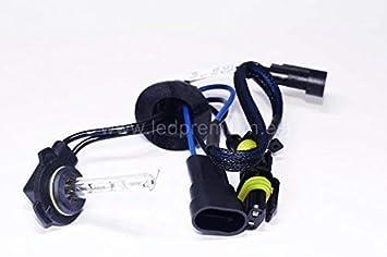 NS 2X Bombillas HIR2 9012 35W 6000K HID Xenon REEMPLAZO Headlight HID Xenon Lamp: Amazon.es: Coche y moto