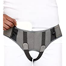 Hernia Belt Support Truss with Special Foam Pads - Superior comfort and Adjustable Pressure - XX Large