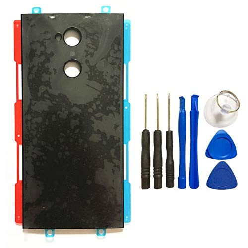 (for Rear Battery Door Housing Case Replacement for for Sony Xperia XA2 Ultra Battery Cover with Tools)