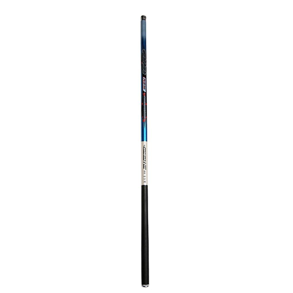 スーパーハードカーボンファイバー伸縮式ストレムスピニング釣り竿 海釣りポール  4.5m B07MRKGHK5