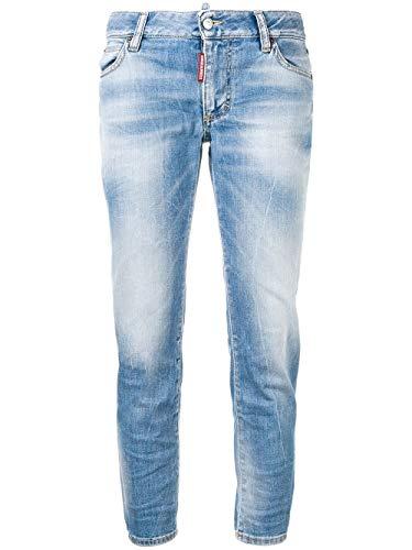 Femme Dsquared2 Coton Bleu S75lb0116s30595470 Jeans lJTK1c3F