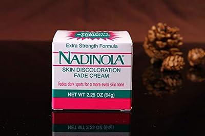 NADINOLA Skin Discoloration Fade Cream - Extra Strength Formula (2.25 ounces)