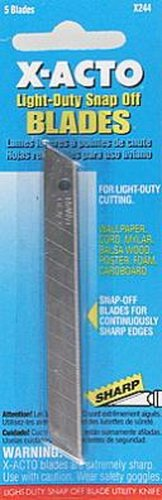 Darice Light Duty Blades,Carded (5)