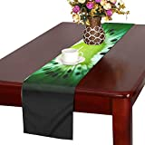 Fruit Food Juicy Desktop Freshness Abstract Color Table Runner, Kitchen Dining Table Runner 16 X 72 Inch For Dinner Parties, Events, Decor