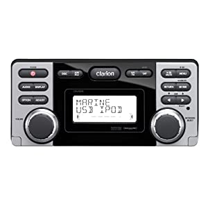 Clarion CMD8 1.8-Inch Marine CD-USB-MP3 Receiver