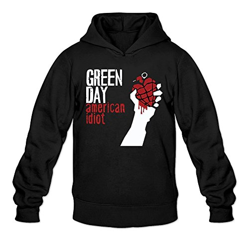 - Men's Green Day American Idiot Live Preview Hoodie Black Medium