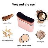 Professional Body Makeup Brush for Blending Liquid
