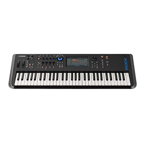 Yamaha MODX6 Synthesizer with Yamaha Gig Bag, Z-Frame Stand and Flash Drive