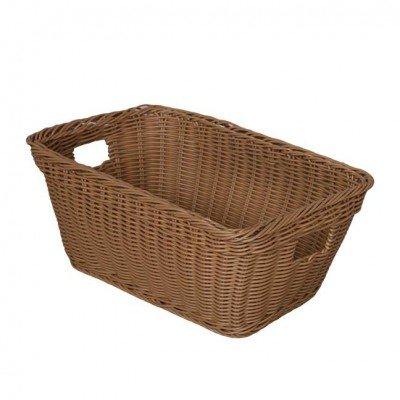 Wood Designs WD71801 Washable Plastic Basket 14.75x9.25x5.75'' (H x W x D) by Wood Designs (Image #1)