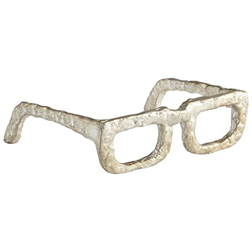 Cyan Design 08827 Sculptured Spectacles Ideal Gift for Wedding, Floral / Floor Vase, Party, Home Decor, Office, - Designs Spectacle