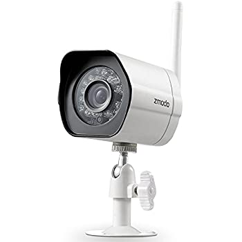 Amazon.com : Zmodo 720P HD Smart Wireless Surveillance Camera Wifi ...