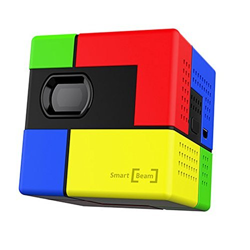 SK UO Smart beam Art Portable Mini Pico Laser Projector Colorful 40 (Beam Projector)
