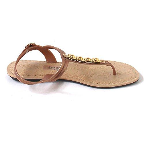 Ipanema - Sandalias de vestir de Material Sintético para mujer marrón Braun (beige/gold) Braun (beige/gold)