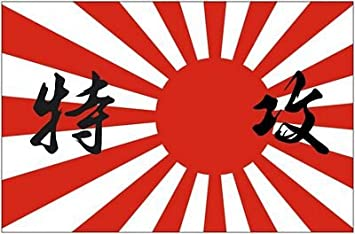 AUFKLEBER Sticker FLAGGE Fahne Flag JAPAN 9,5 x 13 cm