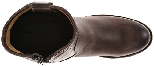 Frye Womens Bouton Mélisse Courte Cheville Boot Ardoise Lavé Antique Pull-up-77908