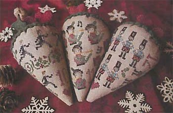 (12 Berries of Christmas - 4 Cross Stitch Chart and Free)