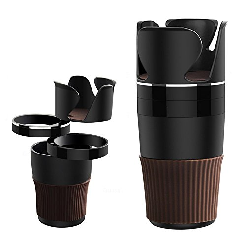 5 in 1 Multifunction Car Cup Holder Phone Drink Glasses Storage For NISSAN SENTRA Altima ROGUE LIVINA QASHQAI JAGUAR XF XJ XJS XK by BENZEE