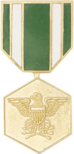 Navy Commendation Medal Hat Pin