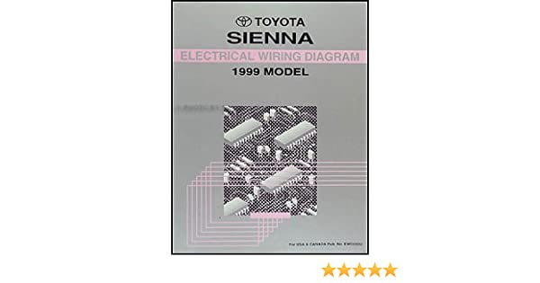 Fabulous 1999 Toyota Sienna Van Wiring Diagram Manual Original Amazon Com Books Wiring Digital Resources Indicompassionincorg