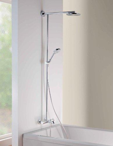 Hansgrohe 27146001 Raindance Showerpipe Tub/Shower, Chrome   Hand Held  Showerheads   Amazon.com
