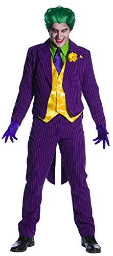 Charades DC Comics Joker Men's Costume, As Shown, Medium]()