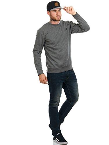 DC Pullover Dukeries Crew Grau Grau