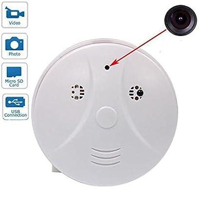 EPTEK @16 GB TF Tarjeta + Home survillance de Seguridad Mini Spy Detector de Humo