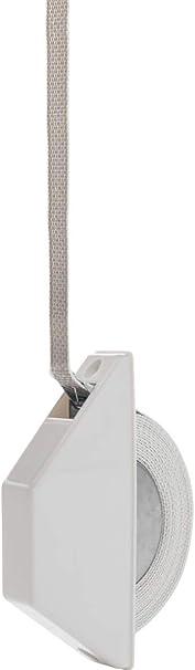 Schellenberg 50505 - Caja para rollo de persiana (diseño de media caja), color blanco: Amazon.es: Bricolaje y herramientas