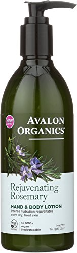 Avalon Organics Hand & Body Lotion, Rejuvenating Rosemary, 12 (Avalon Coconut)