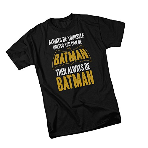 Youth Batman Tee - Always Be Yourself -- Unless You Can Be Batman -- Batman Youth T-Shirt, Youth Small