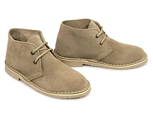 Roamer Womens L777TS Desert Boots 3 UK Light Taupe