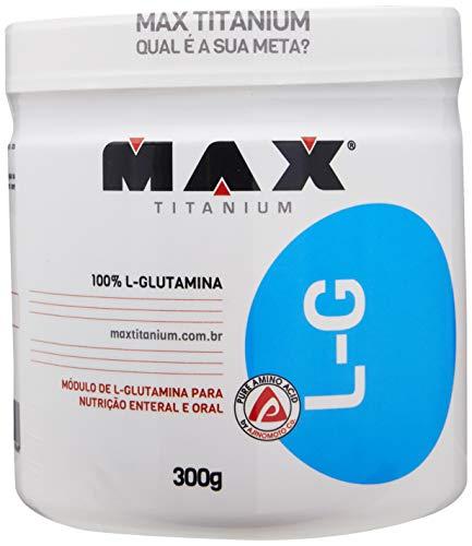 Glutamina L-G, Max Titanium, 300 g