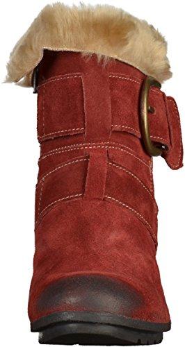 Josef Seibel Tracy 03 Damen Kurzschaft Stiefel Rot