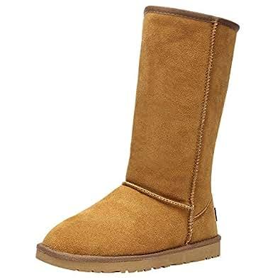 Amazon.com | rismart Womens Classic Below Knee Thermal