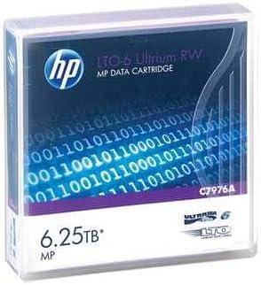 5-Pack HPE LTO 6 Ultrium C7976A Data Cartridge 2.5TB//6.25 TB