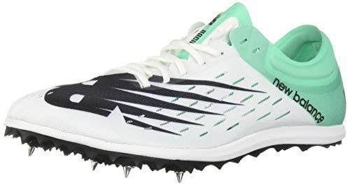 New Balance Women's 5K V6 Track Shoe White/neon Emerald 10 B US